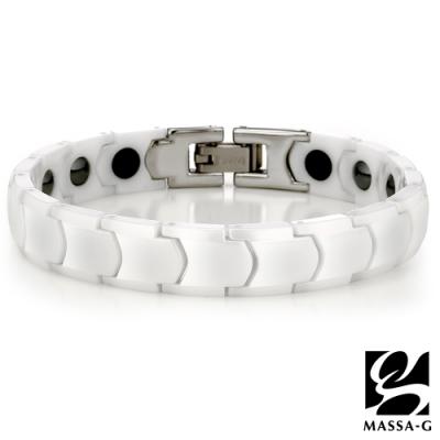DECO X MASSA-G【白色季節】精密陶瓷健康手鍊