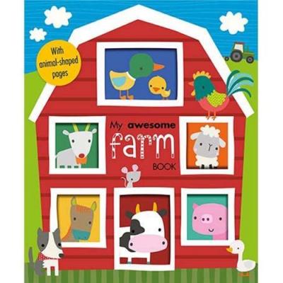 My Awesome Farm Book 我的農場趣味學習書