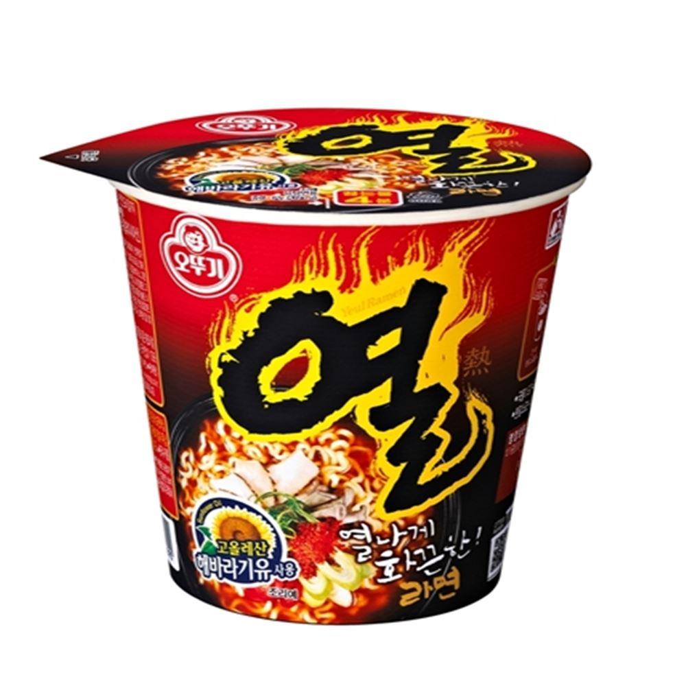 韓國不倒翁 辛辣杯麵(62g)