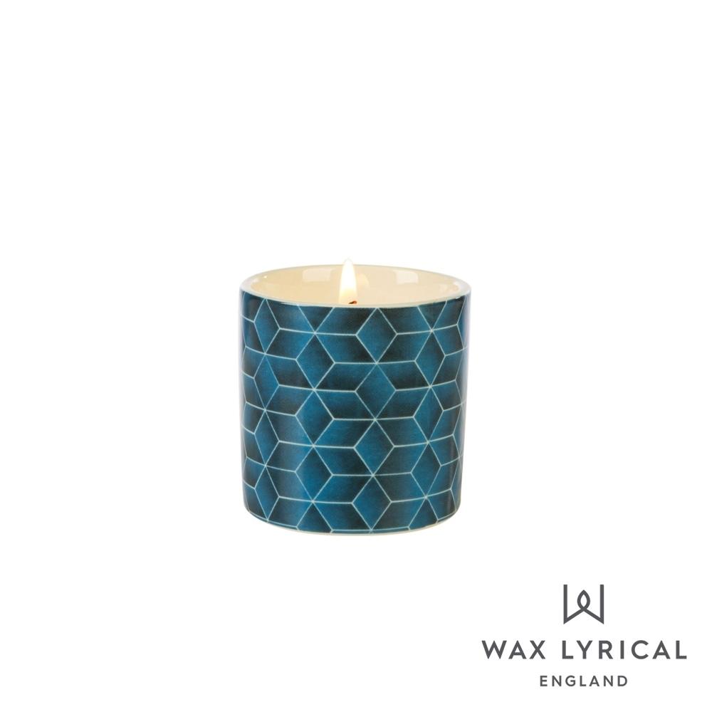英國 Wax Lyrical 大地系列香氛蠟燭-雪松阿薩姆 Assam & White Cedar 68g
