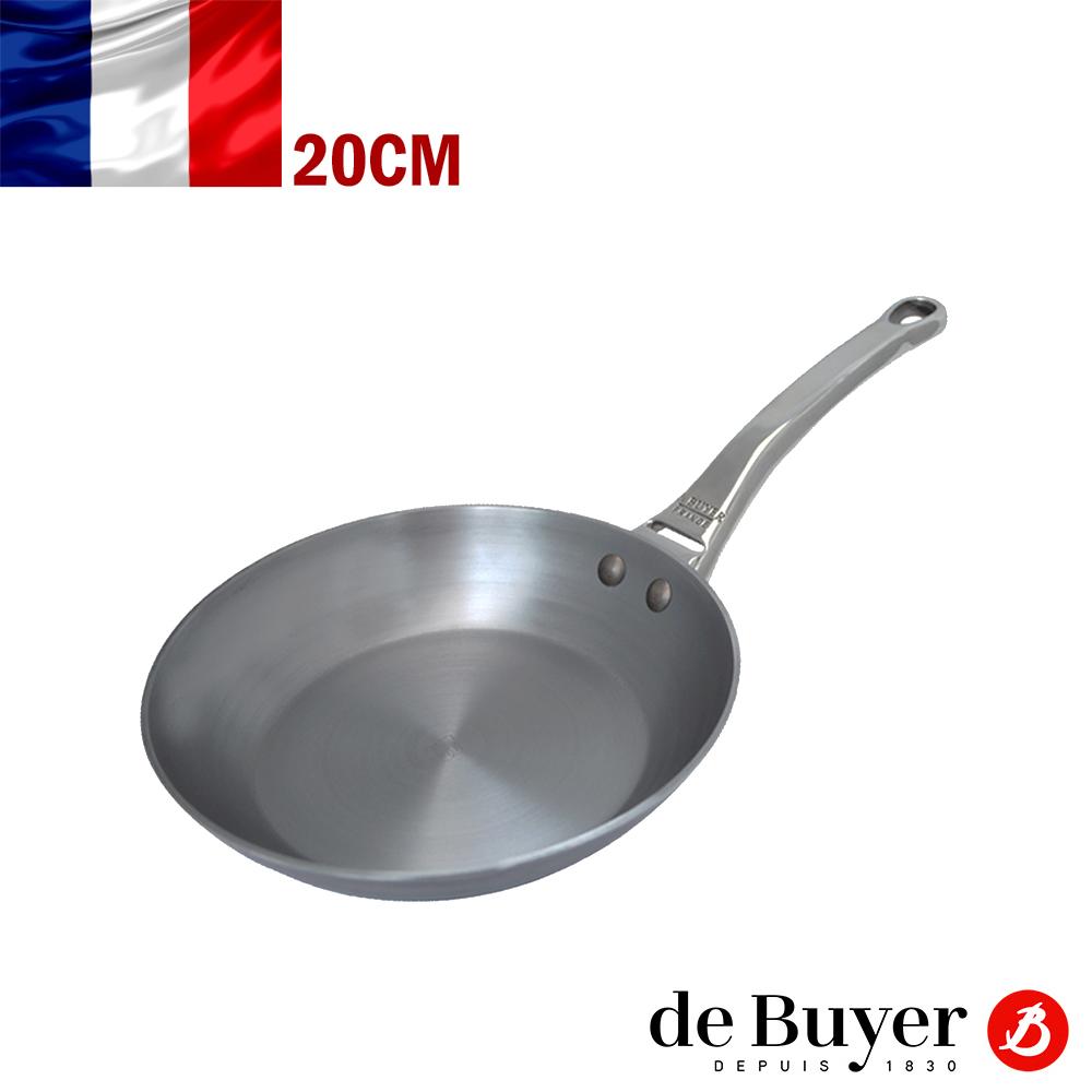 法國de Buyer畢耶 職人握柄系列-單柄平底鍋20cm