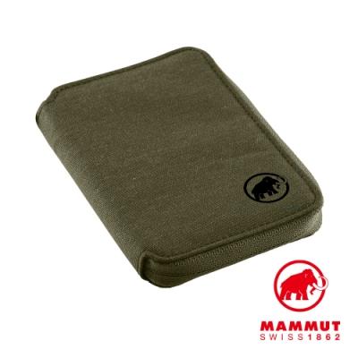 【Mammut】Zip Wallet Melange 休閒短夾 橄欖綠 #2520-00720