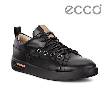 ECCO CORKSPHERE 1L時尚鏤空透視休閒鞋 女-黑