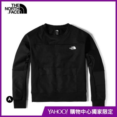 【The North Face】YAHOO獨家限定-北面女款吸濕排汗長袖上衣-3款任選