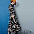 MOMA 雪紡豹紋長洋裝