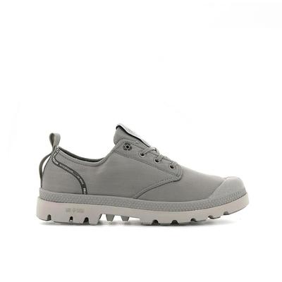 PALLADIUM OX LITE+ RCYCL 男女 低筒防潑水軍靴 灰-76652070