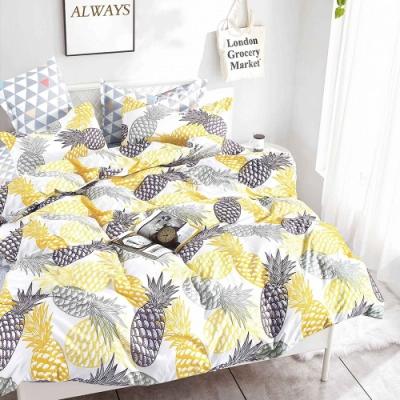 A-one 雪紡棉 雙人床包/枕套 三件組-熱帶水果