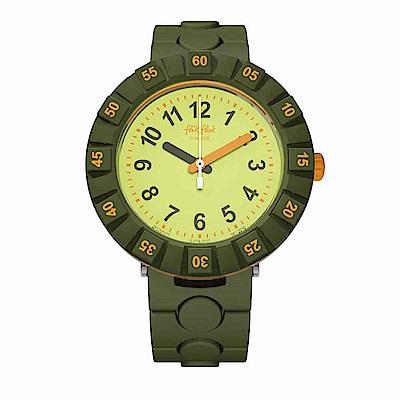 FlikFlak 兒童錶 IN DECKUNG 露營樂趣手錶