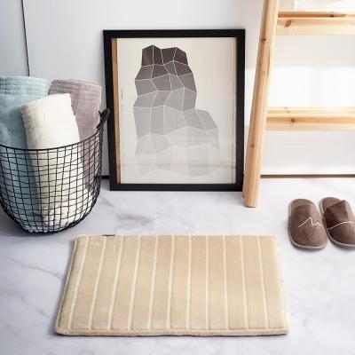 Microdry Soft Lux Bath Mat 奢華絲光記憶綿地墊-流沙金