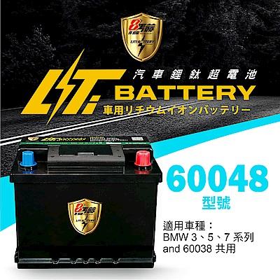 日本KOTSURU-8馬赫鋰鈦汽車啟動電瓶 60048 / 46Ah