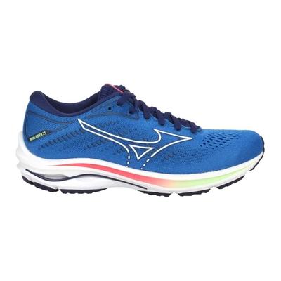 MIZUNO WAVE RIDER 25 女慢跑鞋-路跑 避震 美津濃 J1GD210387 藍綠紅