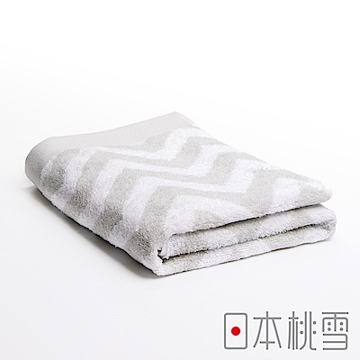 日本桃雪 今治北歐浴巾(極光灰)