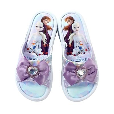 魔法Baby 女童鞋 台灣製冰雪奇緣正版涼拖鞋  sa14027