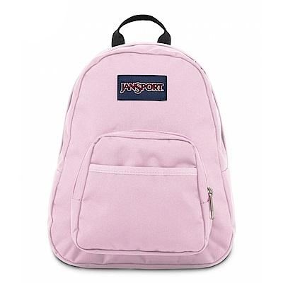 JanSport校園背包(HALF PINT)-霧粉色