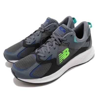 New Balance 慢跑鞋 Roav NXT Wide 寬楦 男鞋 紐巴倫 輕量 透氣 舒適 避震 路跑 灰 藍 MRNXTLB2E