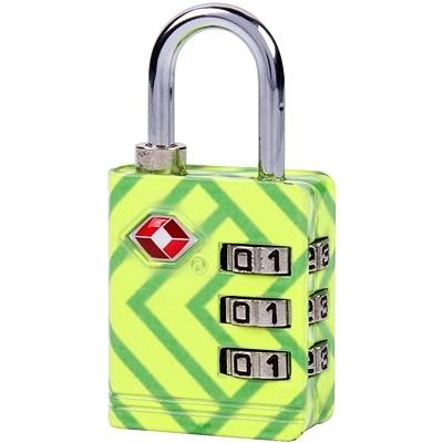 《TRAVELON》TSA三碼防盜密碼鎖(幾何)