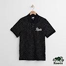 Roots 男裝-米拉米契短袖POLO衫-黑色