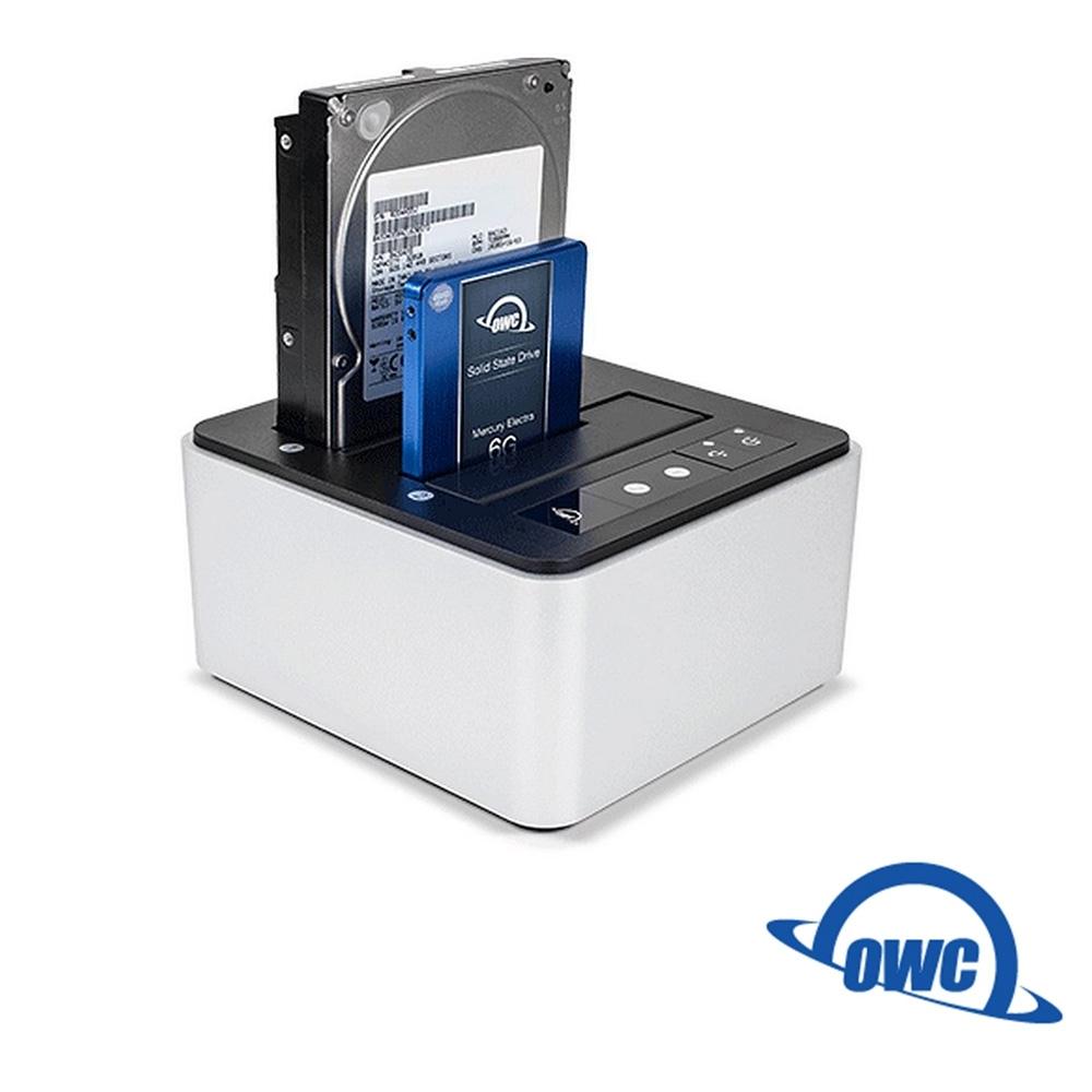 OWC-Drive Dock 雙介面 2.5吋及3.5吋SATA 雙槽硬碟插座