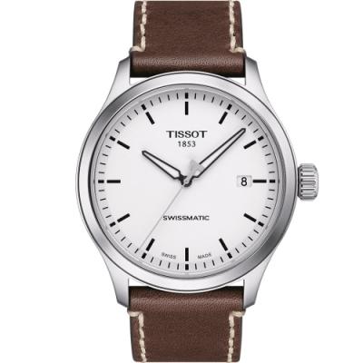 TISSOT GENT XL SWISSMATIC 優雅時尚機械錶(T1164071601100)43mm