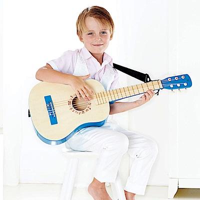 德國Hape愛傑卡 音樂吉他-藍色