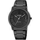 CITIZEN 星辰PAIR 對錶系列黑色腕錶-33mm(FE6015-56E)