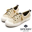 SPERRY 復古風尚經典帆布鞋(女)-金