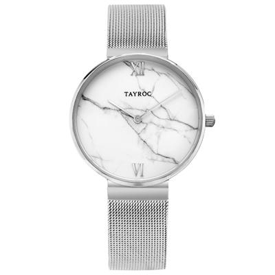 TAYROC  簡約大理石時尚米蘭腕錶(TY153)-36mm