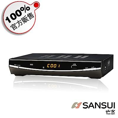 SANSUI 山水 DVB-T H.264 數位機上盒 DVB-900T