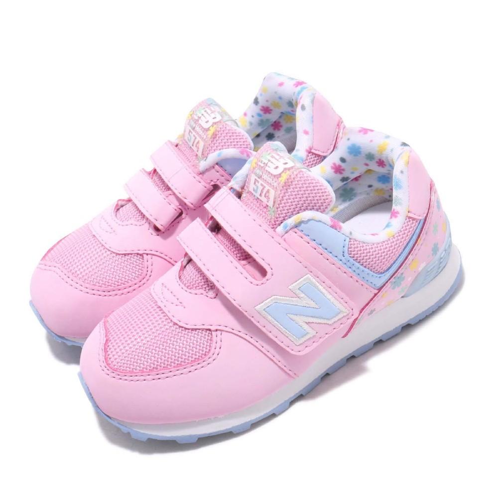 New Balance 慢跑鞋 IV574KCRW 寬楦 童鞋