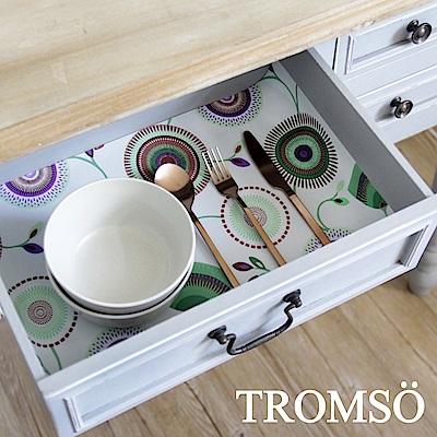 TROMSO 北歐防滑餐櫥抽屜墊-繽紛花園
