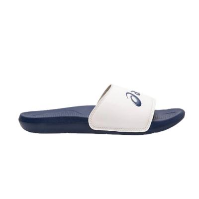 Asics 亞瑟士 男女拖鞋 藍+白 1173A006-100