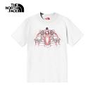 【新年限定】The North Face北面男女款白色舒適短袖T恤|4UC5FN4