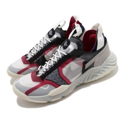 Nike 休閒鞋 Delta Breathe 運動 男鞋 喬丹 避震 舒適 穿搭 輕便 球鞋 灰 紅 CW0783901