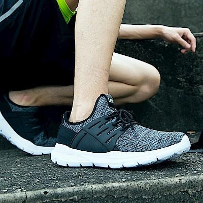 混色織紋極輕休閒運動鞋.男3色-OB大尺碼