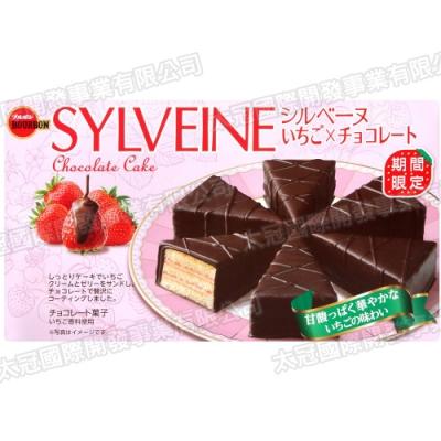 北日本 三角草莓巧克力風味蛋糕(117g)