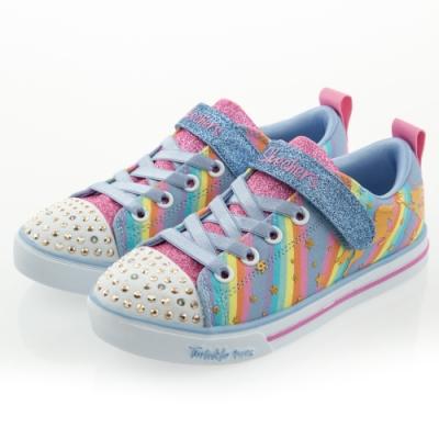 SKECHERS 女童系列 燈鞋 SPARKLE LITE - 20275LLBMT