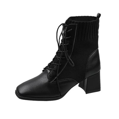 KEITH-WILL時尚鞋館 超有型夜色靜謐中短筒靴