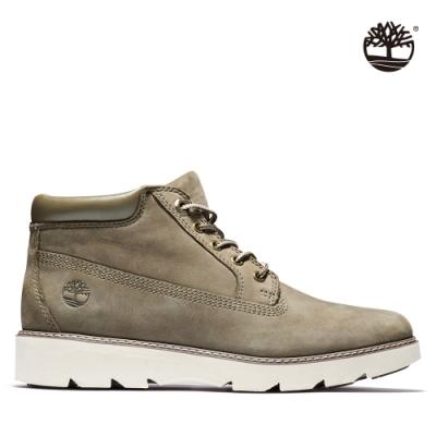 Timberland 女款橄欖棕磨砂革休閒短筒靴|A1YFJ