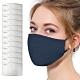活力揚邑 PM2.5防塵霾濾芯式立體棉布口罩活性碳五層濾片12入 product thumbnail 1