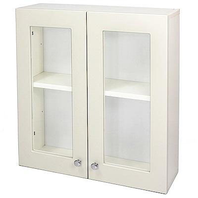 Aaronation 經典款塑鋼雙開門浴櫃 GU-C1019W