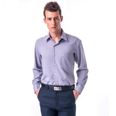 金‧安德森 灰色吸排長袖襯衫fast