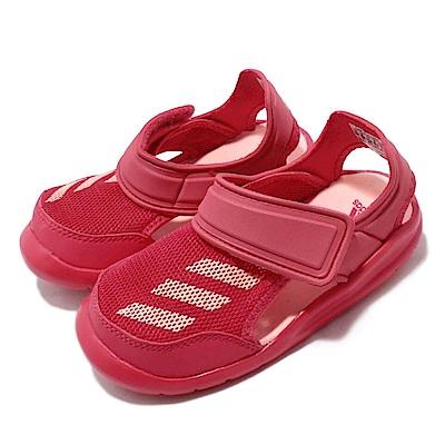 adidas 涼拖鞋 FortaSwim 運動 童鞋
