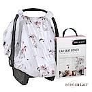 美國 Bebe Au Lait 經典棉紗布汽座蓋巾 (小兔戴花冠)