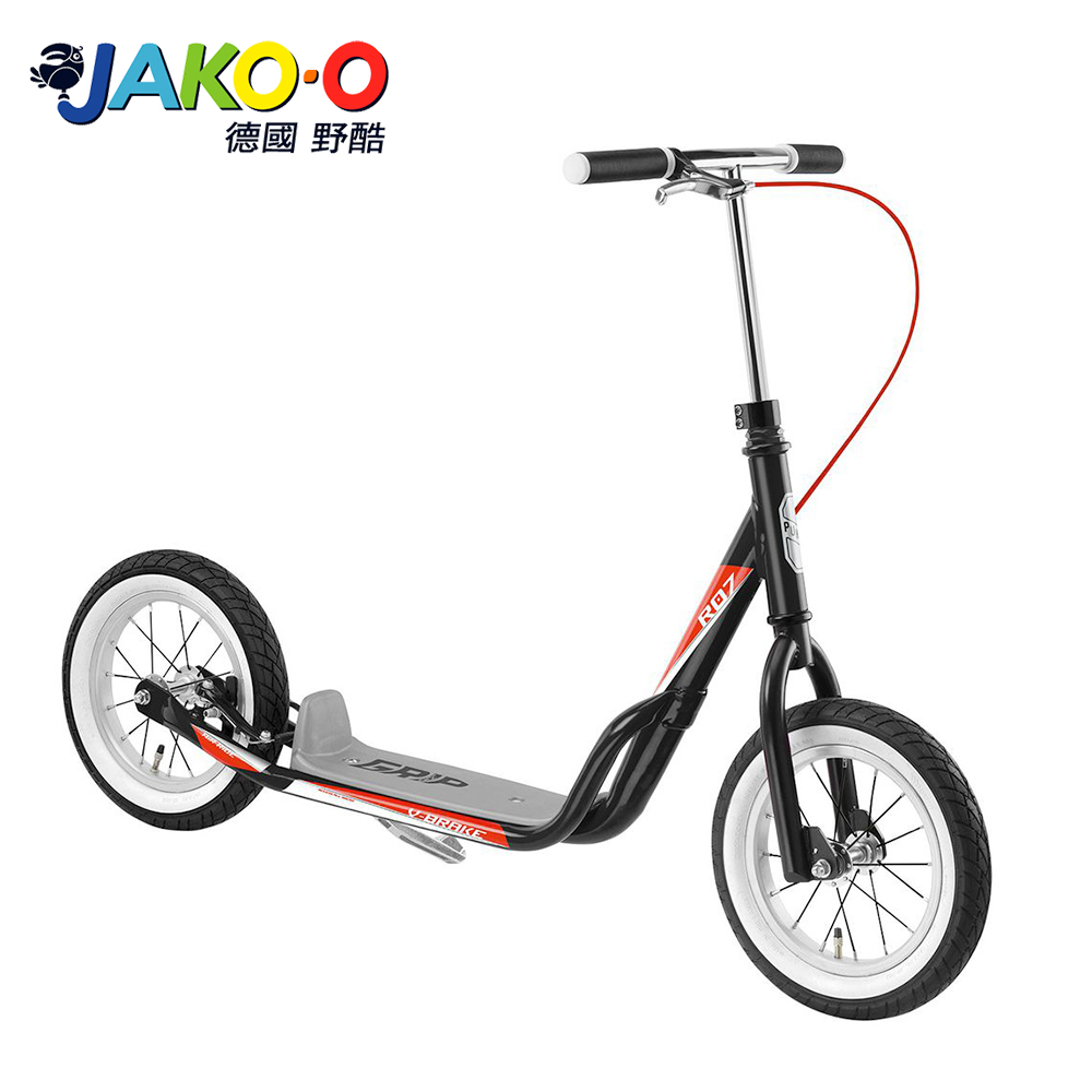 JAKO-O 德國野酷-PUKY R07L平板式滑板車-黑