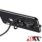 MAX+ 三合一不擋手雙lightning指環扣充電音樂分接線