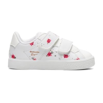 OT鬼塚虎-LAWNSHIP TS 童鞋 復古限量版親子鞋款(紅色)