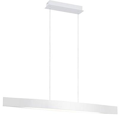 EGLO歐風燈飾 簡約白橫桿式吊燈