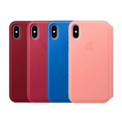 Apple 原廠 iPhone X Leather Folio 皮革雙面夾 (台灣公司貨)