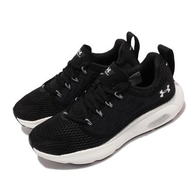 UA 慢跑鞋 Hovr Revenant 運動 女鞋 輕量 透氣 舒適 避震 健身 球鞋 穿搭 黑 白 3024372003