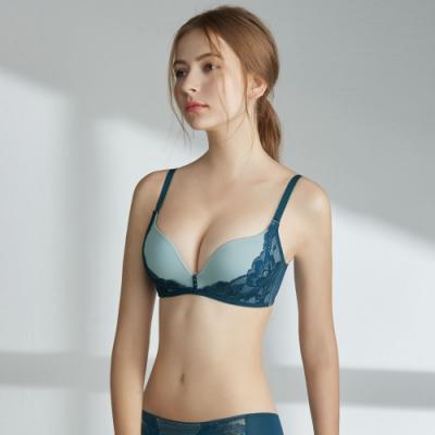 瑪登瑪朵 Soft Up 無鋼圈 內衣  B-E罩杯(簡約藍)